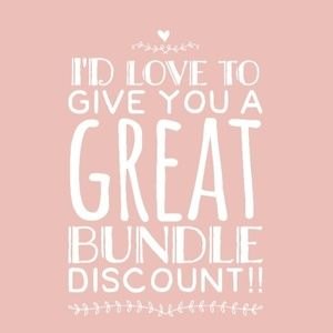 Accessories - 15% off bundles of 3 items or more!